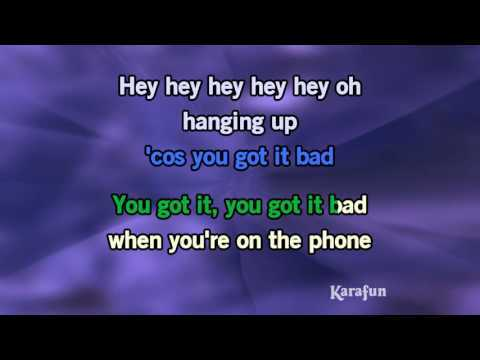 Download MP3: http://www.karaoke-version.com/mp3-backingtrack/usher/u-got-it-bad.html Sing Online: http://www.karafun.com/karaoke/usher/u-got-it-bad/ * This version contains a low volume vocal guide to help you learn the song. The karaoke version without the vocal guide is available on www.karafun.com. This recording is a cover of U Got It Bad as made famous by Usher - This version is not the original version, and is not performed by Usher.