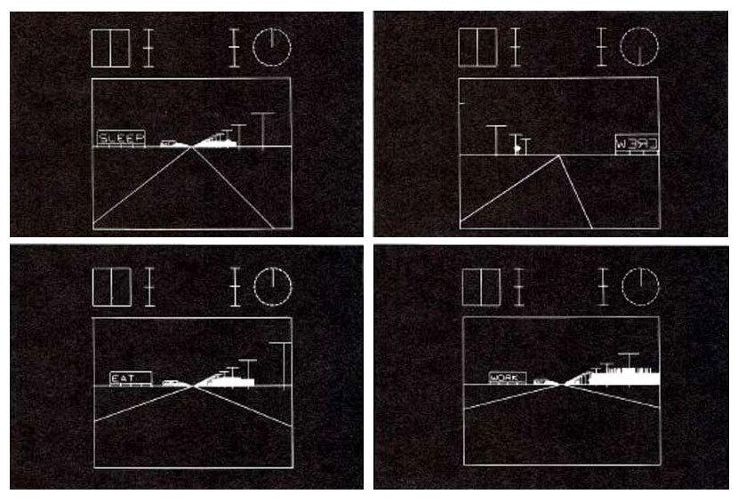 Aaron Marcus - Cybernetic Landscape (1971)