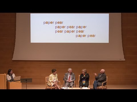 April 6, 2017, The Getty Center Panel participants: Stephen Bann, Sergio Bessa, Marjorie Perloff, and Nancy Perloff Introductory remarks by Nancy Perloff This panel discussion addresses both the common ground and the differences between the poetic art of Ian Hamilton Finlay and the work of the Brazilian concrete poets who called themselves Noigandres.