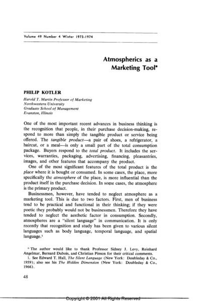 Kotler-Atmospherics-as-a-marketing-tool-cite-171-1973.pdf