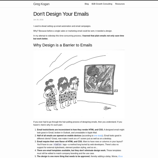 I used to dread setting up email automation and email campaigns.