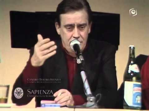 Seminario del 1984 - Intervento di Vittorio Gassman