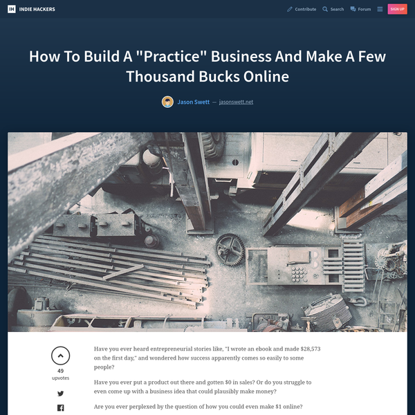 """Have you ever heard entrepreneurial stories like, """"I wrote an ebook and made $28,573 on the first day,"""" and wondered how success apparently comes so easily to some people? Have you ever put a product out there and gotten $0 in sales?"""