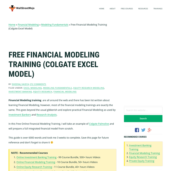 Bank Financial Model Excel