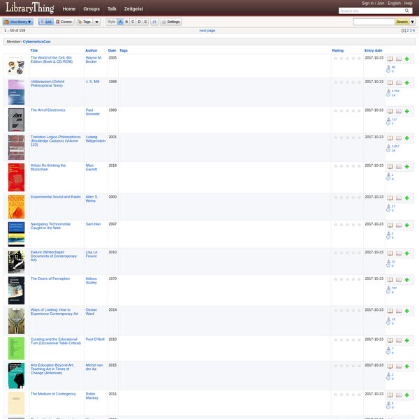 LibraryThing is a cataloging and social networking site for booklovers