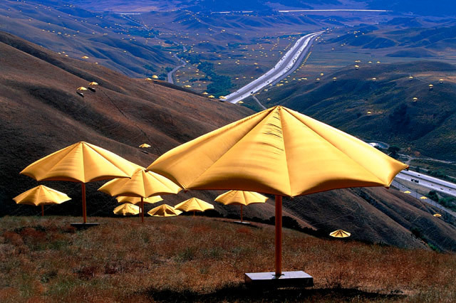 """Christo and Jeanne Claude's """"The Umbrellas"""""""