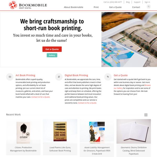 Home   Art Book Printing, Digital Book Printing   Bookmobile