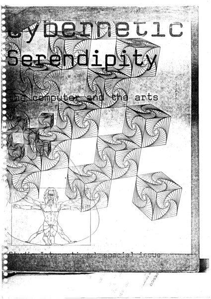 Cybernetic Serendipity was an exhibition of computer art curated by Jasia Reichardt and shown at the Institute of Contemporary Arts, London, from 2 August to 20 October 1968. Later it toured the United States.