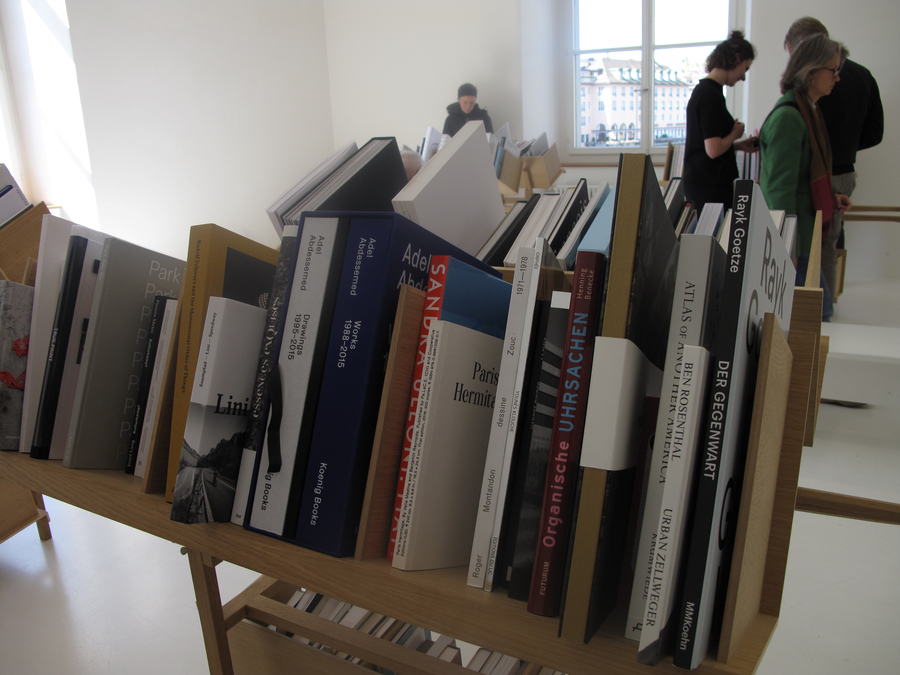 "Paris Hermitage in the ""unselected"" stacks at Helmhaus Zurich"