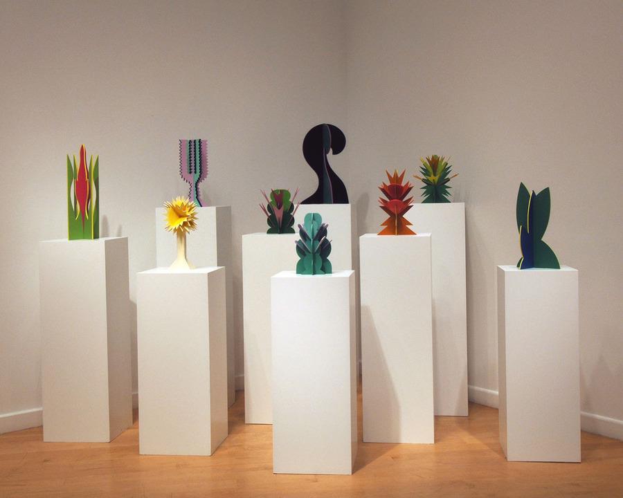 Giacomo Balla - Futurist Flowers (1918-1925) (Reconstructed 1968)