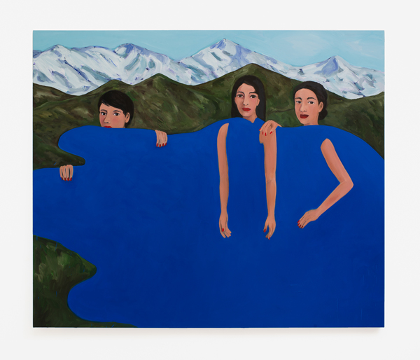 2017.10 Becky Kolsrud: Allegorical Nudes, Three Women, 2017