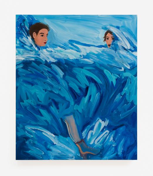 2017.10 Becky Kolsrud: Allegorical Nudes, Underwater Boot, 2017