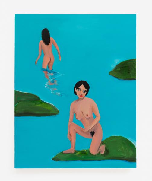 2017.10 Becky Kolsrud: Allegorical Nudes, Nude Ascending, 2017