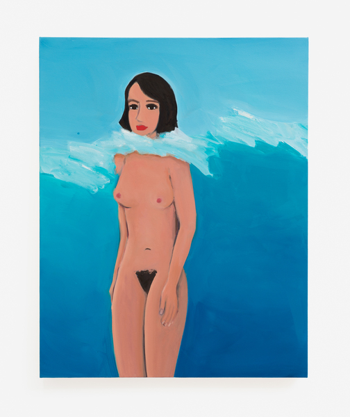2017.10 Becky Kolsrud: Allegorical Nudes, Lady Underwater, 2017