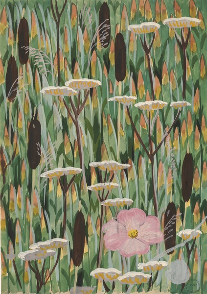 Charles Burchfield - Wallpaper Design No. 4, 1922 - 1929