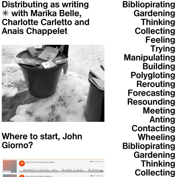 Designing Writing