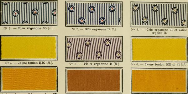 """Image from page 24 of """"Revue générale des matières colorantes de la teinture, de l'impression et des apprêts"""" (1910)"""