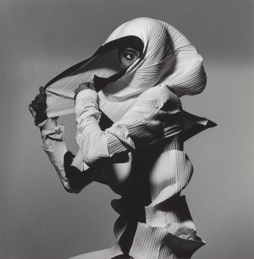 Irving Penn, Issey Miyake Fashion: White and Black, New York, 1990