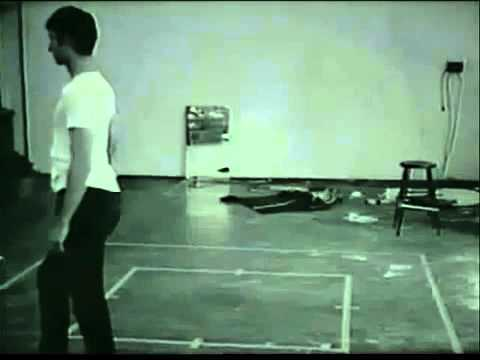 Bruce Nauman Walking in an Exaggerated Manner