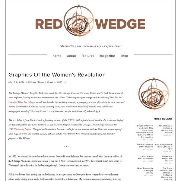 Graphics Of the Women's Revolution
