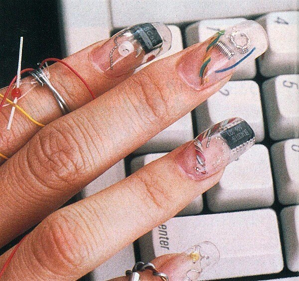 """191 Likes, 5 Comments - another kind (@another___kind) on Instagram: """"Nails by Michiko Matsushita, 1999"""""""