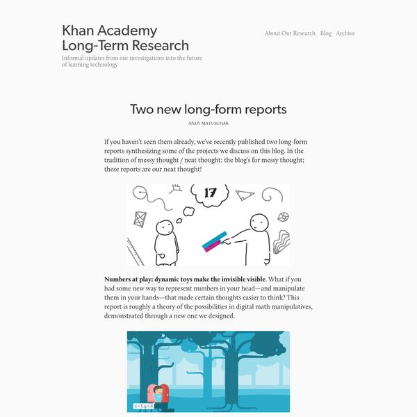 Khan Academy Long-Term Research