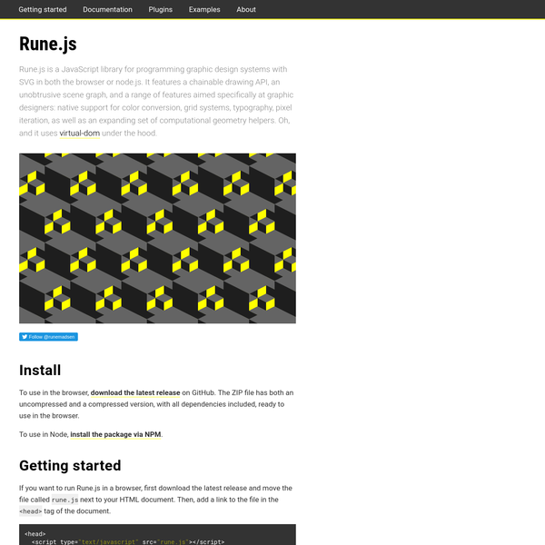 Rune.js Documentation