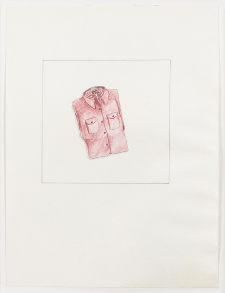 2013.06 Stuart Sherman : Proposed Sculptural Projects..., shirts, c. 1985-1989