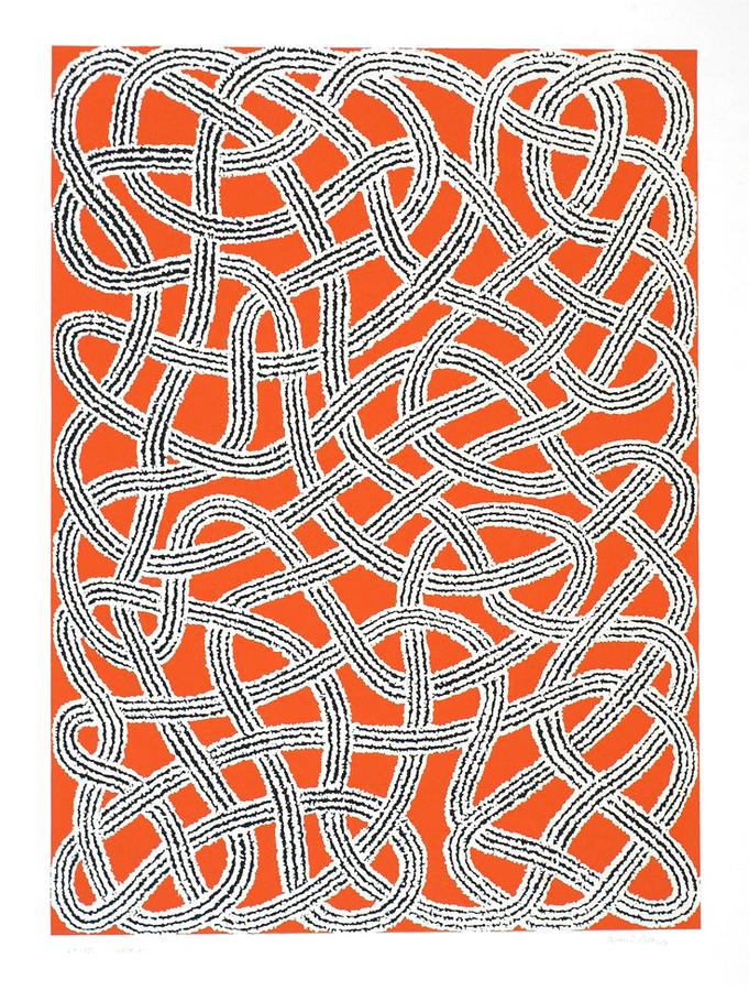 Anni Albers - Study for Nylon Rug (1959)