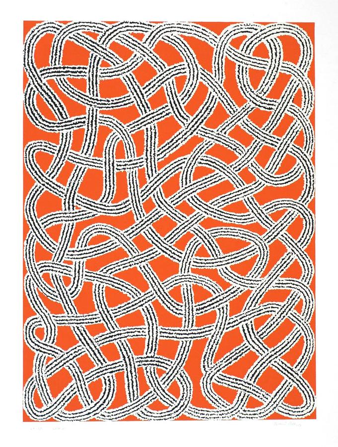 Anni Albers - Study for Nylon Rug (1959)