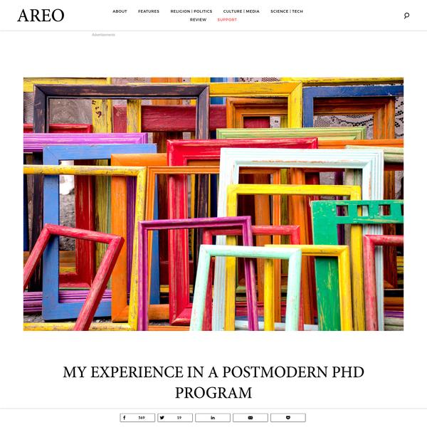 My Experience in a Postmodern PhD Program