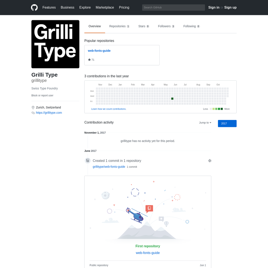 grillitype has 1 repository available. Follow their code on GitHub.