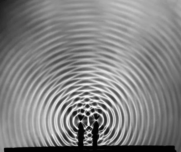 Berenice Abbott - Wave Interference Pattern (1950s)