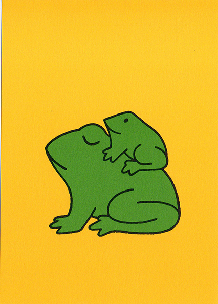 Dick Bruna - Frog Postcard