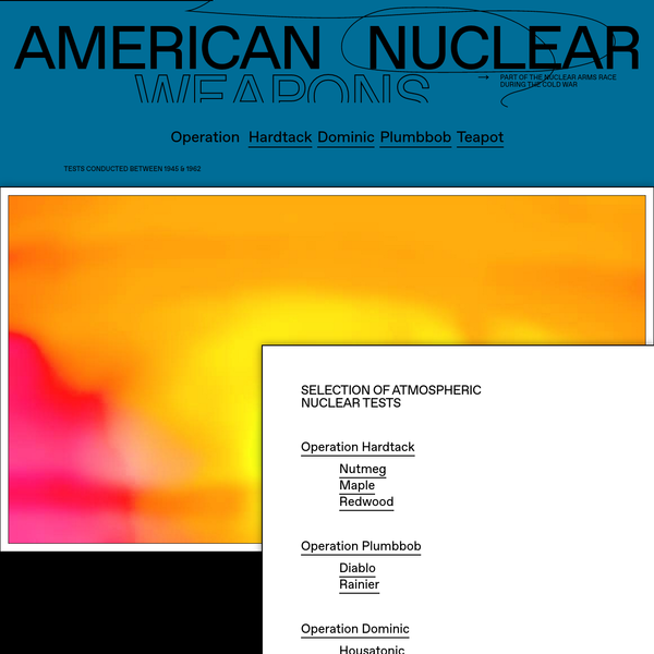 Nuclear Tests