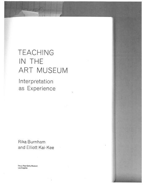 Rika-Burnham-Elliott-Kai-Kee_The-Art-of-Teaching-in-the-Museum.pdf