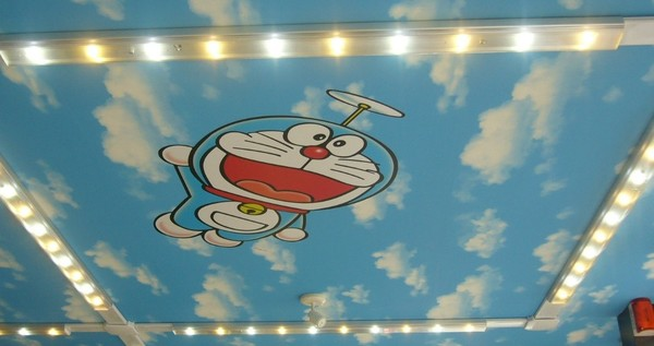 ceiling of a LAWSON