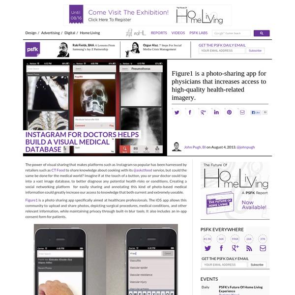 Instagram For Doctors Helps Build A Visual Medical Database - PSFK