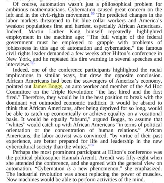 racial-economic critique, cybernetics