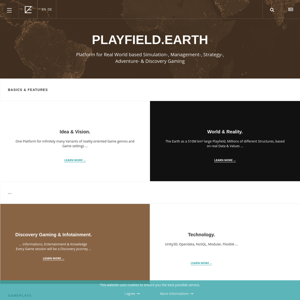 Home - Playfield.Earth