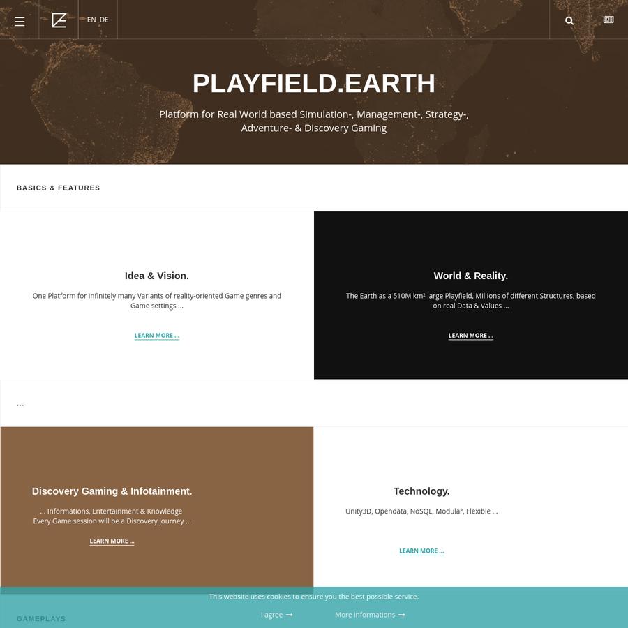 Platform for real-world based Gaming
