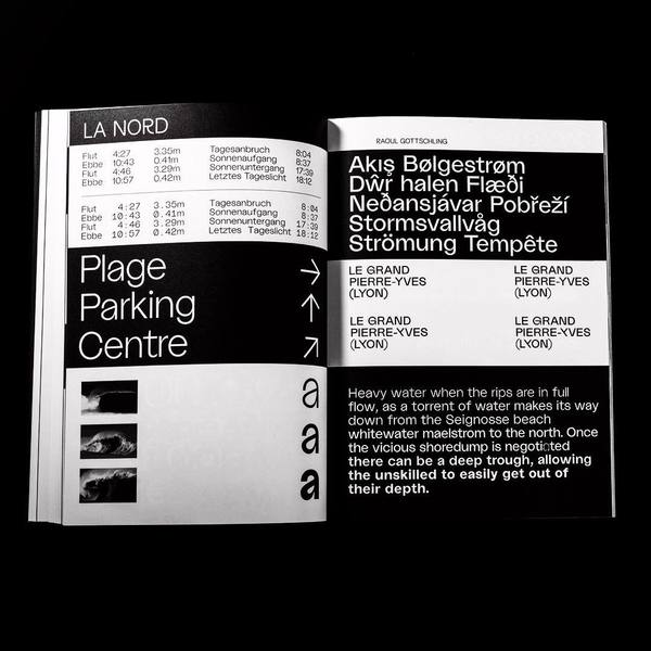 La Nord spread in @charlotte__rohde 's @typeclub_duesseldorf magazine 👩🏼💻👨🏻💻