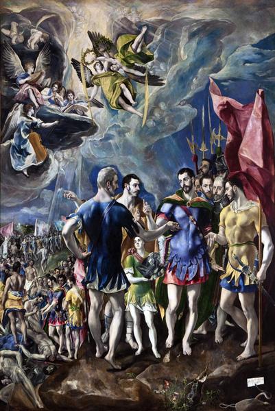 Martirio de San Mauricio, El Greco
