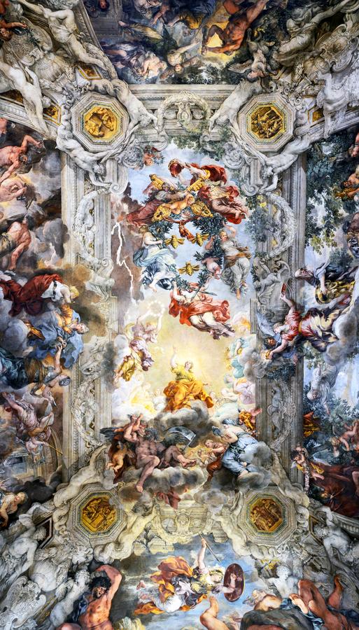 Ceiling of Palazzo Barberini