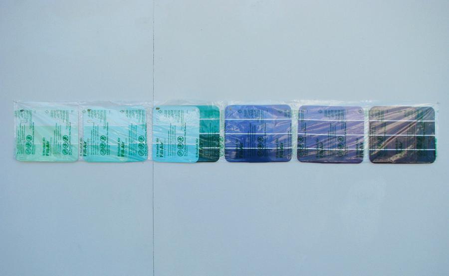 2011 Monica Dixon-Paint Swatch Composition