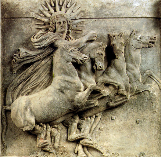 Greek Titan of the Sun - Helios