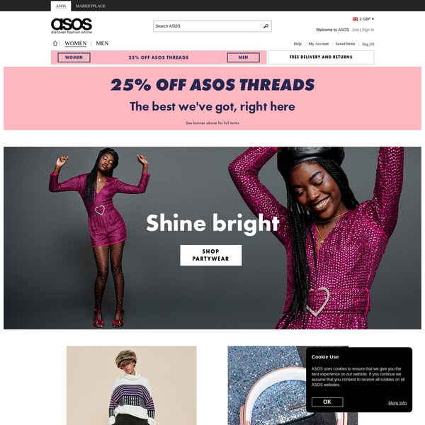 f6f16828d5 Shop for the latest fashion styles and trends for women at ASOS. Discover  our range
