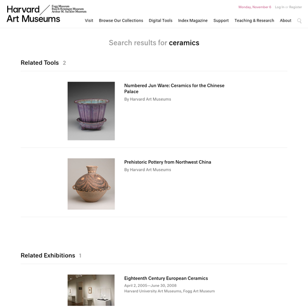 Search Results - ceramics | Harvard Art Museums