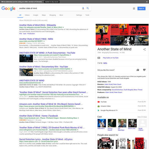 another state of mind - Google Search
