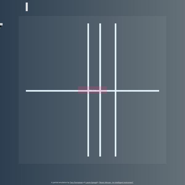 Music Mouse - An Intelligent Instrument - An Emulation